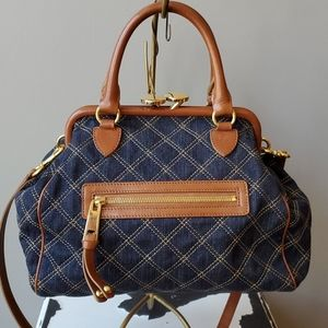Marc Jacobs Bags - Marc Jacob's Mini Stam Denim Quilted Bag